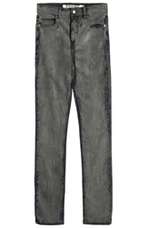 Mcq By Alexander Mcqueen Low Waist Skinny Distressed Jeans