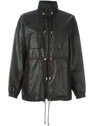 Isabel Marant Drawstring Waist Jacket Black