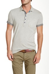 Gilded Age Solid Polo Gray