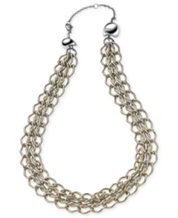 Breil Milano Breil Necklace Stainless Steel Linked Convertible Necklace
