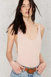 Nasty Gal Two Scoops Bodysuit Pink
