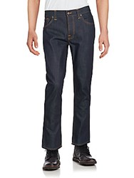 Nudie Jeans Dark Wash Denim Pants Dry Ring