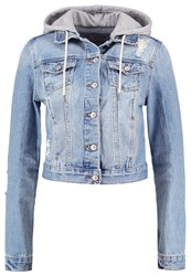 New Look Denim Jacket Mid Blue
