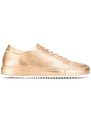 Philippe Model 'Noah' Sneakers Men Leather Rubber 40 Metallic