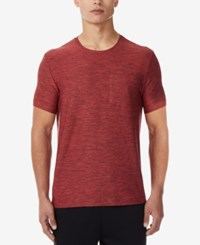 32 Degrees Pocket T Shirt Dusty Red
