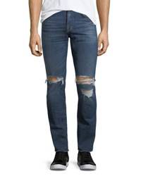 7 For All Mankind Paxtyn Skinny Jeans Indigo Blowout