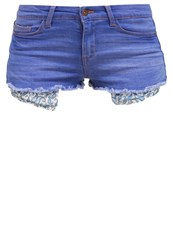 Evenandodd Denim Shorts Blue Denim Stone Blue
