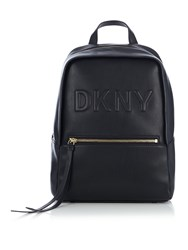 Dkny Tilly Pu Medium Backpack Black