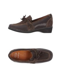 Scholl Moccasins Dark Brown