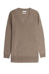 Vince Cashmere Pullover Brown
