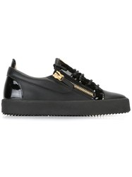 Giuseppe Zanotti Design Frankie Low Top Sneakers Black