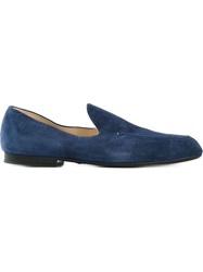 Doucal's Minimal Loafers Blue