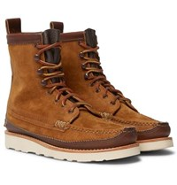 Yuketen Maine Guide Db Leather Boots Brown