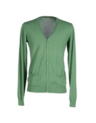 Become Knitwear Cardigans Men Green