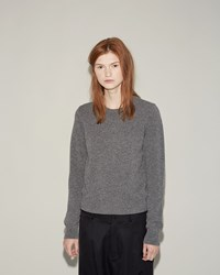 Comme Des Garcons Lambswool Pullover Grey