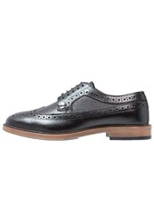 Burton Menswear London Pembury Smart Laceups Black