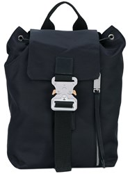 Alyx Buckle Detail Backpack Unisex Polyester One Size Black