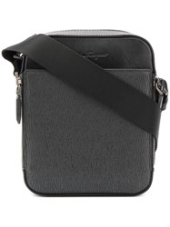 Salvatore Ferragamo Revival Messenger Bag Black