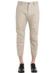 Dsquared Tizzy Cotton Twill Pants