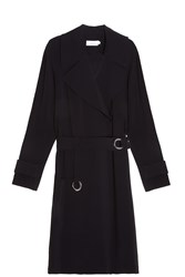 A.L.C. Oliver Trench Coat Black