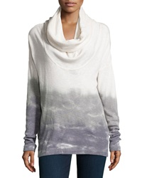 Xcvi Ombre Tie Dye Slub Knit Sweater Small