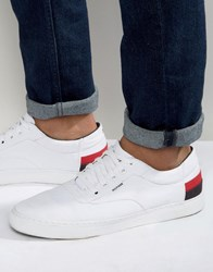 Tommy Hilfiger Jay Leather Trainers White