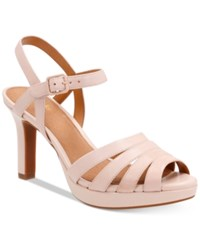 Clarks Artisan Women's Mayra Poppy Dress Sandals Women's Shoes Dusty Pink
