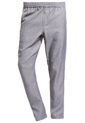Selected Homme Shdkey Trousers Grey Melange
