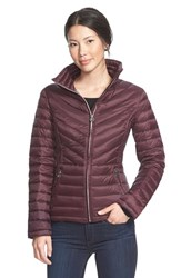 Women's Michael Michael Kors Stand Collar Packable Down Jacket
