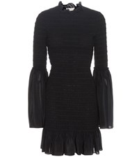 Stella Mccartney Silk Dress Black
