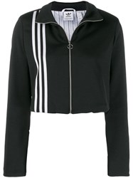 Adidas Cropped Sweatshirt Black