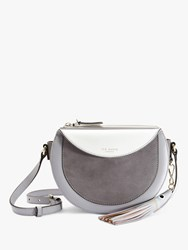 Ted Baker Solarr Half Moon Shoulder Bag Grey