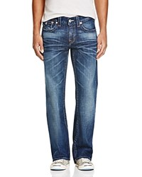 True Religion Basic Flap Pocket Bootcut Jeans In Multi Compare At 216