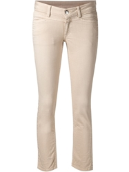 Closed Classic Skinny Jeans Nude And Neutrals
