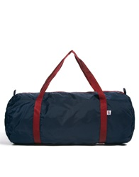 American Apparel Nylon Duffle Bag Blackiriswcrimso