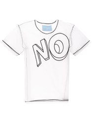 Viktor And Rolf The No Motif T Shirt White