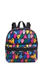 Le Sport Sac Lesportsac Janis Backpack Sign Language