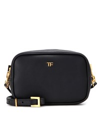 Tom Ford Leather Crossbody Bag Black