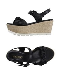 Jeannot Footwear Sandals Women Black