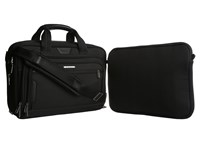 Briggs And Riley Work Medium Expandable Brief Black Briefcase Bags