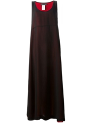 Maria Calderara Loose Fit Long Dress Black