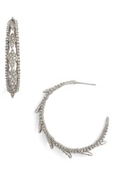Alexis Bittar Women's Crystal Encrusted Hook Earrings