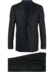 Etro Single Breasted Two Piece Suit 60