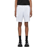 Givenchy White Jacquard Sporty Shorts