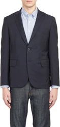 Brooklyn Tailors Two Button Sportcoat Blue