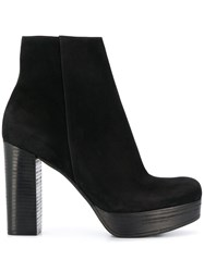 Kennel Schmenger And Platform Ankle Boots Black