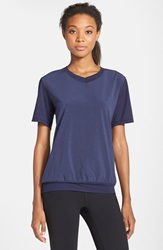 Brooks 'Fly By' Running Top Heather Navy