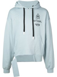 Haculla 'There's No Future For You' Hoodie Blue