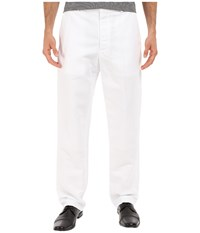 Perry Ellis Linen Suit Pants Bright White Men's Casual Pants
