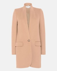 Stella Mccartney Beige Camel Bryce Coat